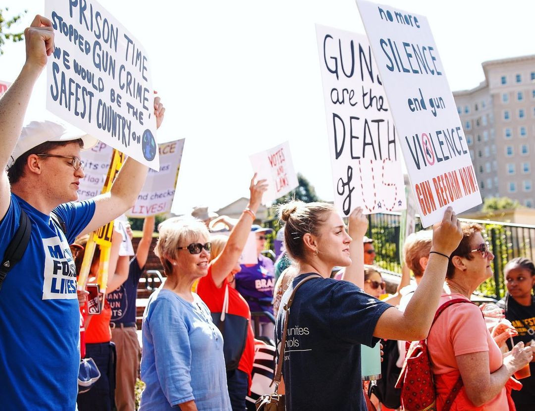Anti Gun Protest - July 2019