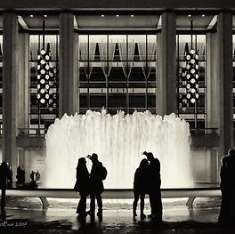 Photo Shoot x 2 at Lincoln Center