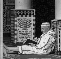 In the temple in Fez