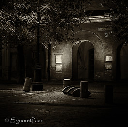 The quiet of the night in Transylvania
