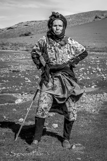 Working alone in the High Atlas Mountains