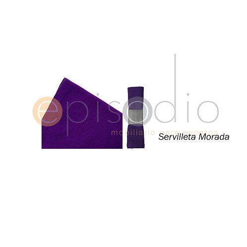 Servilleta Morada