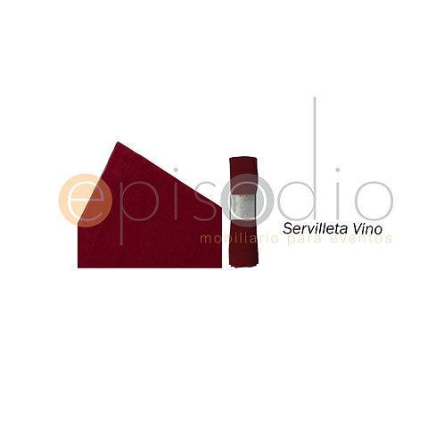 Servilleta Vino
