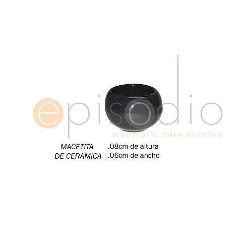 Bowl de Cerámica Chico Color Negro