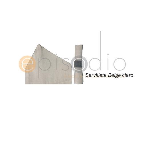 Servilleta Beige Claro