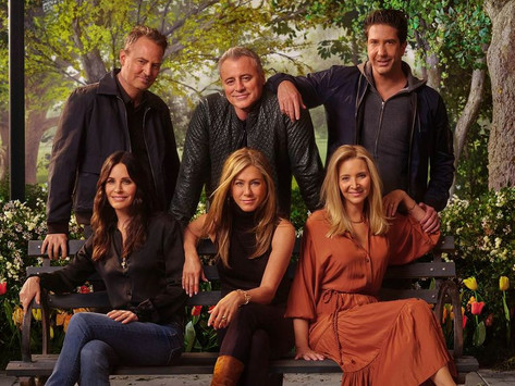 Friends Reunion 2021 HBO MAX