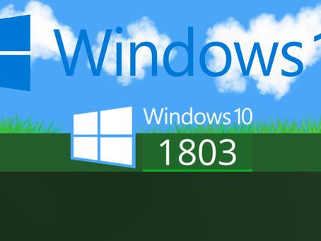 Microsoft Windows 10 Build 1803 Latest Update