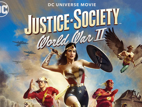 Movie Review: Justice Society: World War II (2021)