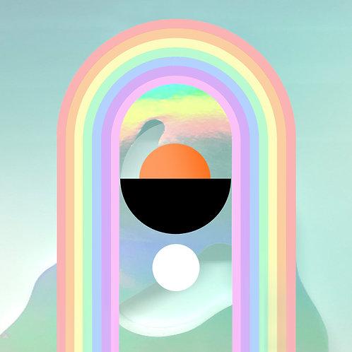 Soft Rainbow Archival Artist Print