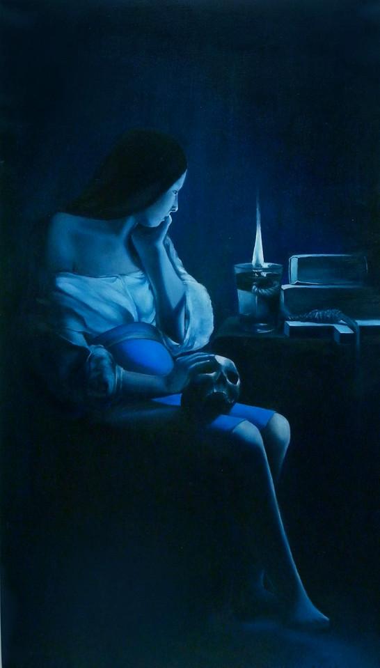 MAGDALENA IN BLUE