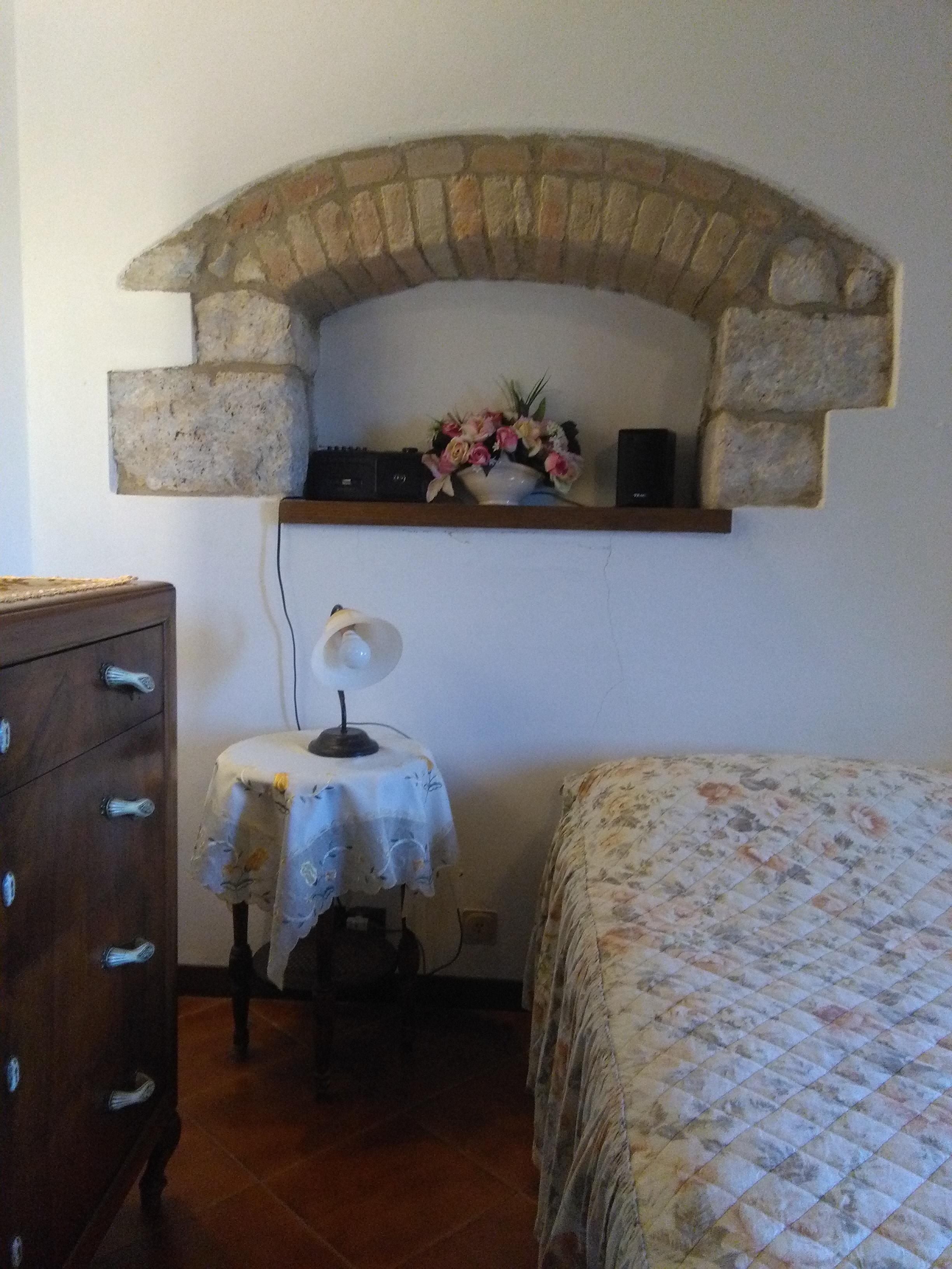 particolare camera doppia letto 2 pp