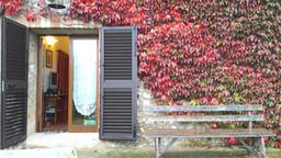 Camera Girasoli - ingresso ed esterno