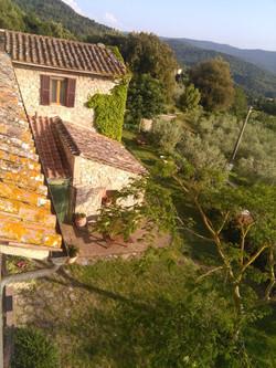 vista su Torre Doganiera dalla Torre