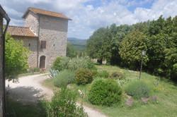 vista del giardino e Torre