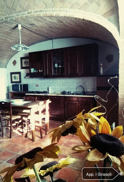 App. Girasoli - cucina