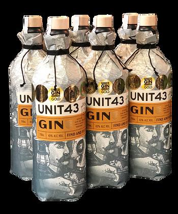 Unit43 Original Dry Gin 6 Pack