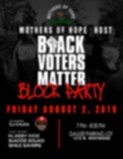 Black Voters Matter Flyer '19 Block Part