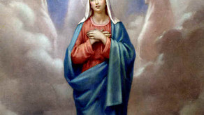 Feast of the Assumption Mary mass Day August 15