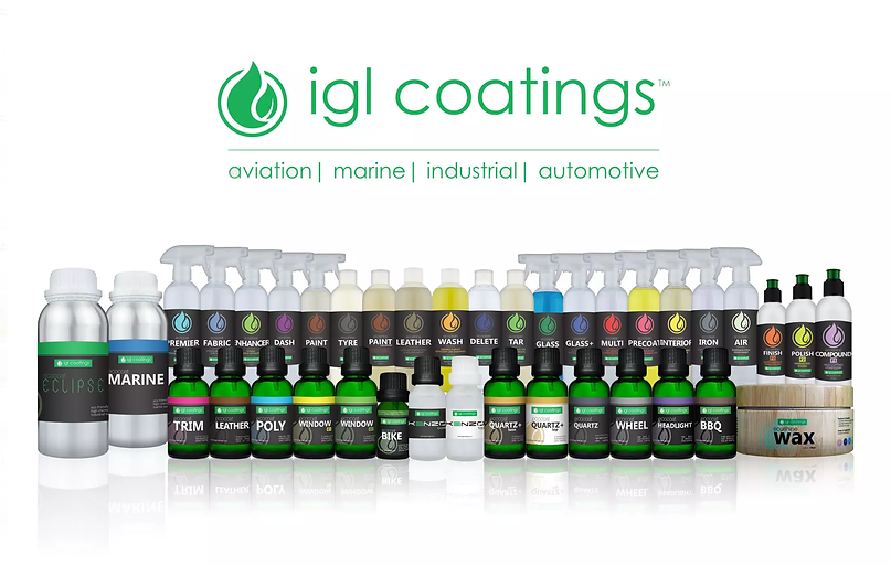 IGL Ceramic Coatings offered by Aesthetic Detail Studio in Chicago, IL