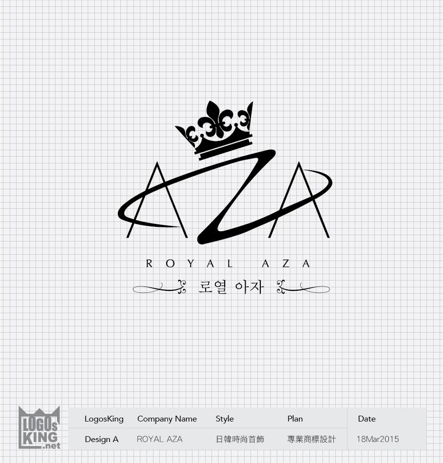 ROYAL AZA   Logosking.net