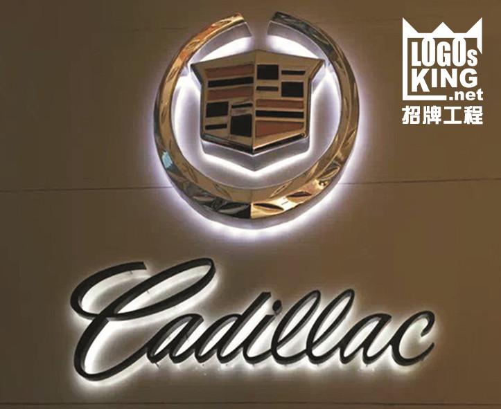 Cadillac 招牌