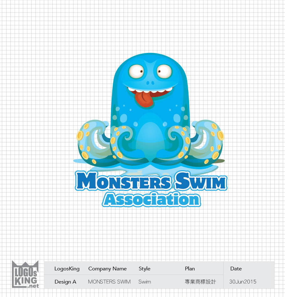 MONSTERS SWIM | Logosking.net