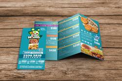 Pizza Monster Leaflet