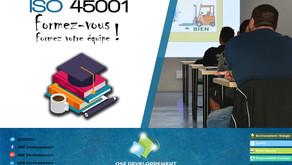 Formez-vous à l'ISO 45001