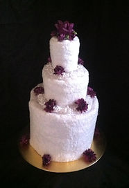 Wedding Towel Cake