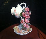 Flower Tea Cup Arrangement