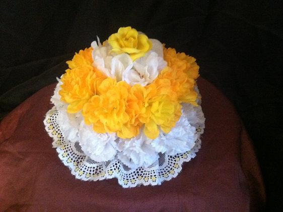Flower Cake (Yellow)