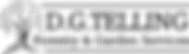 D.G.TELLING LOGO (BLACK AND WHITE with L