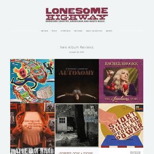 LONESOME HIGHWAY - Oct 22, 2020