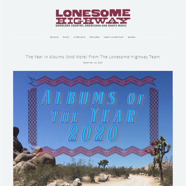 LONESOME HIGHWAY - Dec 14, 2020