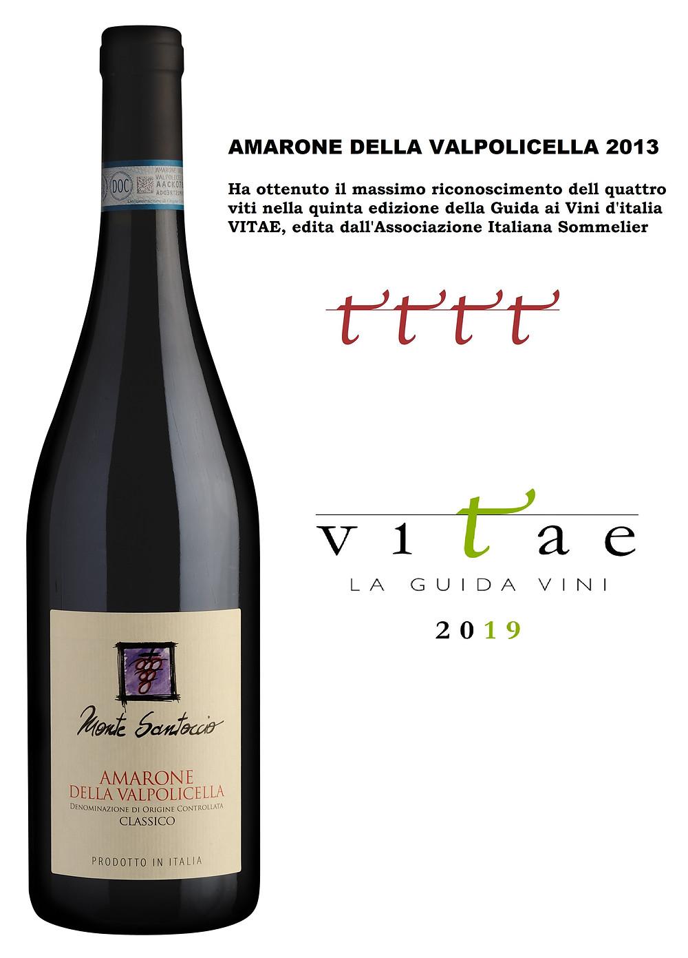 Monte Santoccio Amarone della Valpolicella Classico Guida ai Vini Vitae