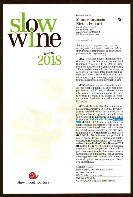 Slow Wine Guida 2018