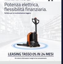 TRANSPALLET ELETTRICI BT Tyro