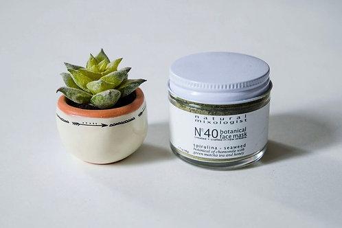 No. 40 Seaweed and Spirulina and Matcha Tea