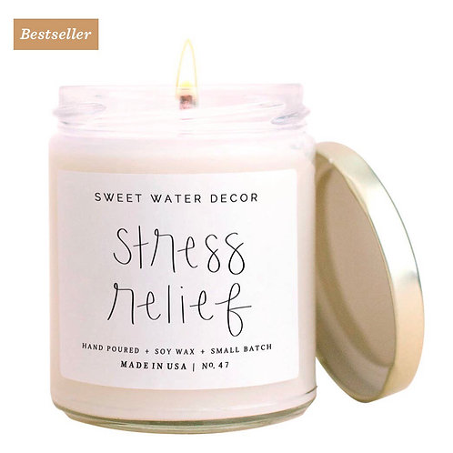 Stress Relief soy candel