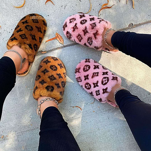 'LUXE LIFE' SLIPPERS