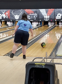 Bowling day! Strike!!