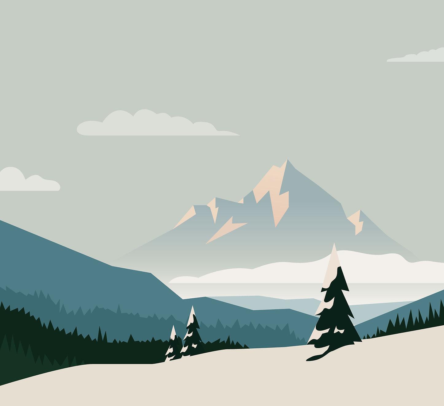 イラスト山脈