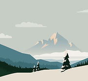 Montagnes Illustrated