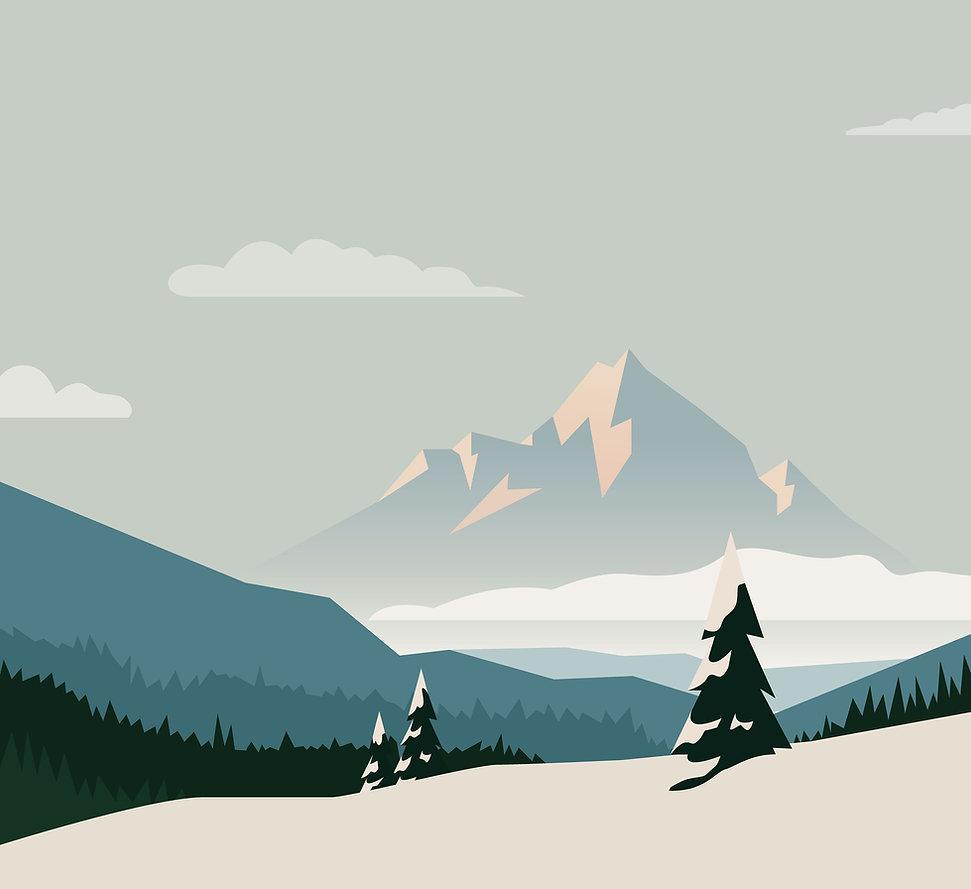 Montagnes Illustrated