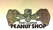 Port Clinton Peanut Shop Logo Elephants Sharing Peanut