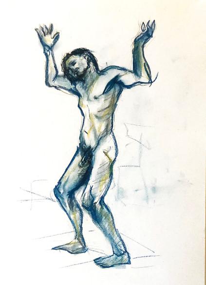 Butoh Dancer
