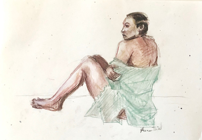 Woman with Shirt.