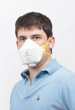 Respirador DESCARTAVEL DOBRAVEL PFF2