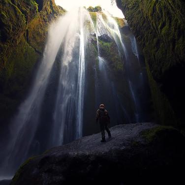 Gljúfurárfoss, Iceland