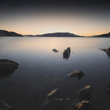 Campotosto Lake